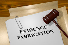 evidence-fabrication-legal-concept-d-illustration-title-documents-70113507